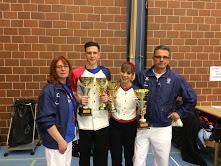 medaglia d'argento al campionato del mondo boogie woogie Junior.